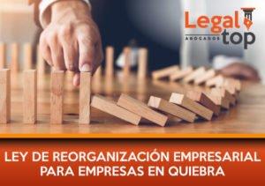 Ley de Reorganización Empresarial Para Empresas en Quiebra
